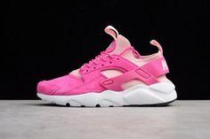 dd8a45336b45 Adaptable Nike Air Huarache Run Ultra ID White Pink 829669 600 Women s  Footwear Running Shoes