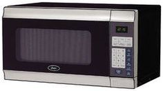 0.7 cu ft Microwave -700watts Stainless