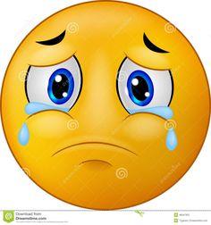 Emoticon triste do smiley dos desenhos animados ilustração royalty free Funny Emoji Faces, Emoticon Faces, Funny Emoticons, Smiley Faces, Smiley Emoji, Smiley Triste, Emoji Triste, Images Emoji, Emoji Pictures