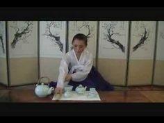 KOREAN TEA CEREMONY - Simple Demo - YouTube