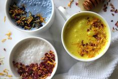 There's something that feels so therapeutic - even enchanting - about whipping up a nighttime cup of moon milk with sleep supporting herbs.
