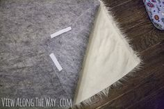 How to make a DIY Faux Fur Rug (!) - * View Along the Way *