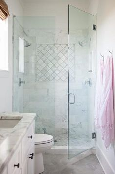 Marble Arabesque Shower Tiles