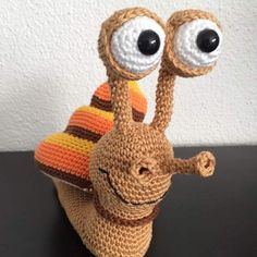 Sydney the Snail made by Dunja G. Thanks for the great photos!