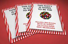 Candy Crush Saga Birthday Party Invitation 4 x by MapleSyrupDesign, $8.00