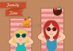 Family holiday vector illustration , #ad, #holiday, #Family, #illustration, #vector #affiliate