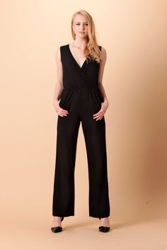 4dbde4387027ff Wide Leg Jumpsuit in soft organic cotton. Handmade in Philadelphia by  Orgotton