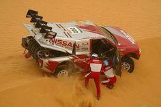 Slot Car Racing Argentina: Nissan Pick-Up DAKAR 2004 (Mc-Rae / Thorner)