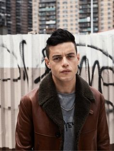 Rami Malek photgraphed by Josh Olins for Interview magazine
