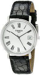 Tissot Men's T52142113 T-Classic Desire Leather Watch