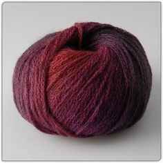 Alta Moda Fine Degradé von Lana Grossa. I love this brand for its exquisite quality yarns.