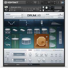 Komplete : Drums : Drumlab | Produkte
