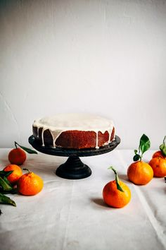Hummingbird High - A Desserts and Baking Food Blog in Portland, Oregon: Olive Oil Citrus Cake