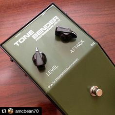 Repost @amcbean70:  Green day part1  huge thanks to @innerflight for parting with this beauty I know you've got something special incoming to replace it #differentialaudiomanifestationz #damstompboxes #tonebender #mkii #fuzz #fuzzpedal
