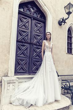 Off-white mermaid line dress made from French lace with a tulle overskirt Veil Hairstyles, Bridal Wedding Dresses, French Lace, Dress Making, All Things, Hair Makeup, Tulle, Celestial, Bride