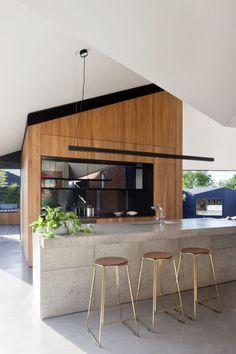 Shadow house by Matt Gibson Architecture + Design with Mim Design. Photo by Shannon McGrath.  #architecture #heritage #design #melbourne