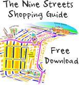 De negen straatjes - Shopping guide