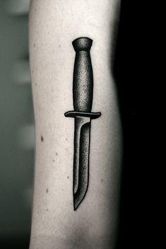 #knife #tattoo