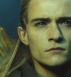 Legolas (Orlando Bloom)- When I first fell in love.