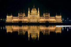 Parliament at night, Budapest Mark Mervai on Capital Of Hungary, Heart Of Europe, Types Of Photography, Urban Life, Budapest Hungary, Big Ben, New York Skyline, City Photo, World