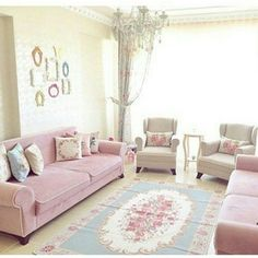 Hatice lady's pink house dominated by pink. - Decoration For Home