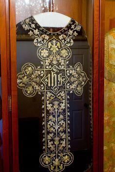 Vestment from Mission Carmel Catholic church