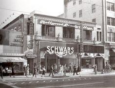 schwabs mens store 6358 Hollywood Blvd