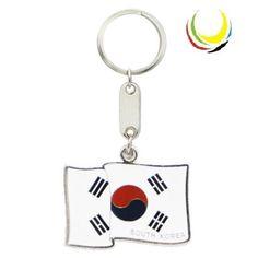 Keychain SOUTH KOREA FLAG $3.50