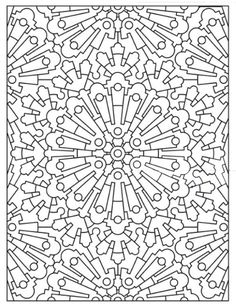 Mandala in patroon 59