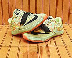 3fec2085c3a8 2014 Nike KD VII 7 Size 1Y - Lime Black Viper Green - 669944 304