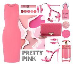 """Pretty Pink"" by yutsu ❤ liked on Polyvore featuring Michael Kors, Giuseppe Zanotti, Chanel, Kjaer Weis, NYX, Guerlain, Prada and Givenchy"