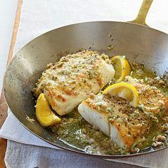 Roast Cod with Garlic Butter - Gluten free • 9 mins to cook • Serves 4