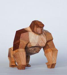 Os finos toys de madeira do designer Mat Random | IdeaFixa