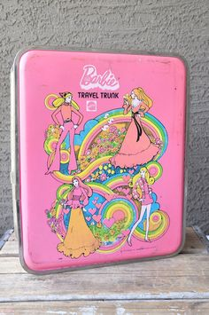 1970s barbie trunks...early Container Store trends. So beautiful.
