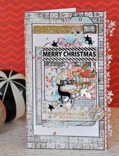 Merry Christmas card by Emma Trout using Allison Kreft's 'It's Christmas'