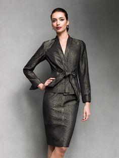 I adore this suit!  Doncaster.com : Extraordinary Apparel. For Extraordinary Women.