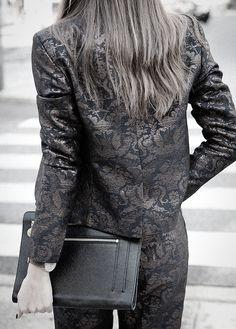 Brocade jacket.