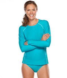 #LLBean: Water-Sport Swimwear, Hydro Shirt Cover-Up   $40