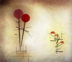 1928 Vassily Kandinsky Composition II