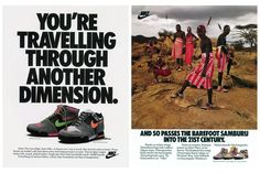 Nike Lava High and Son of Lava Dome 1989 Advertisements [offspring of Lava Dome]