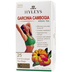 Wellness Garcinia Cambogia Autoship Tea Bags Hyleys Tea