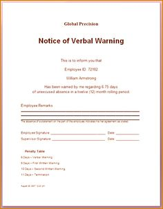 Warning letter to employee who visited clients premises without warning letter to employee who visited clients premises without permission pinterest altavistaventures Gallery