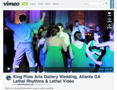 Lethal Rhythms Videography: Atlanta Wedding at King Plow Arts Center (www.lethalrhythms.com) #LethalRhythms #LethalLab #AtlantaVideographer #AtlantaDJ #WeddingVideo #GeorgiaWeddings