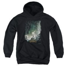 """Checkout our #LicensedGear products FREE SHIPPING + 10% OFF Coupon Code """"Official"""" Hobbit / At Smaug's Door-youth Pull-over Hoodie - Hobbit / At Smaug's Door-youth Pull-over Hoodie - Price: $49.99. Buy now at https://officiallylicensedgear.com/hobbit-at-smaug-s-door-youth-pull-over-hoodie"""