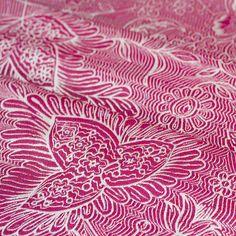 """BEAUTIFUL Pavo Textile wrap, """"Etini Hibiscus"""""""