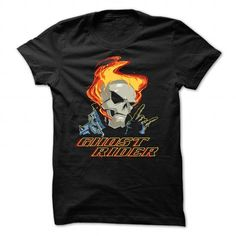 GHOST RIDER T Shirts, Hoodies. Check price ==► https://www.sunfrog.com/Automotive/GHOST-RIDER-110948790-Guys.html?41382