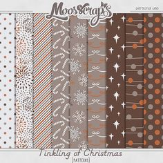 Digital Art :: Paper Packs :: Tinkling of Christmas - patterns