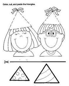 Pracovní listy pro děti s vystřihováním a lepením