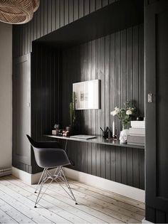 Appartamento bianco con tocchi di grigio