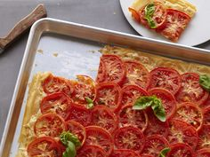 Tomato Cheese Tart from CookingChannelTV.com